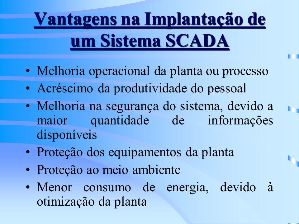 Vantagens na Implantação de um Sistema SCADA