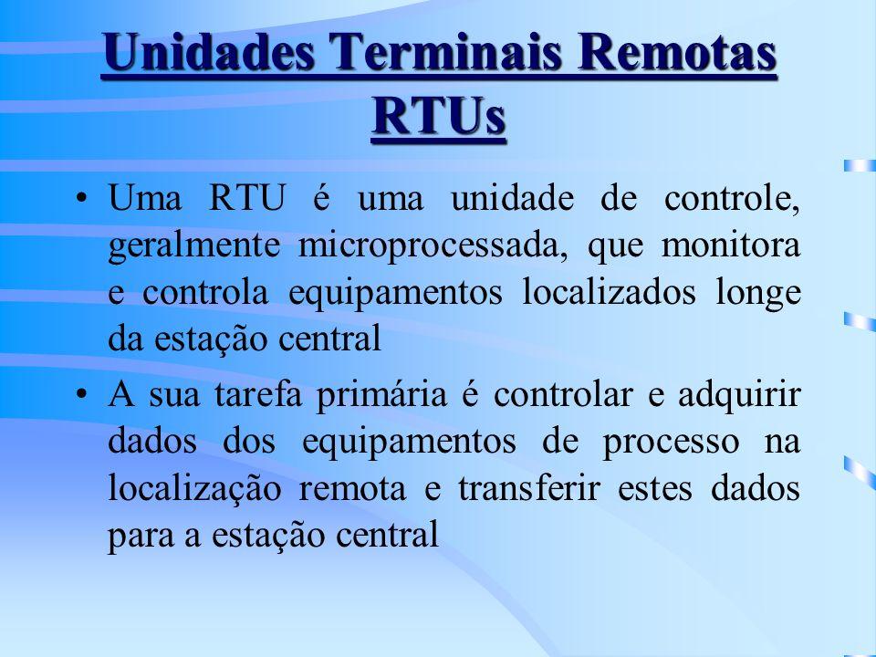 Unidades Terminais Remotas RTUs