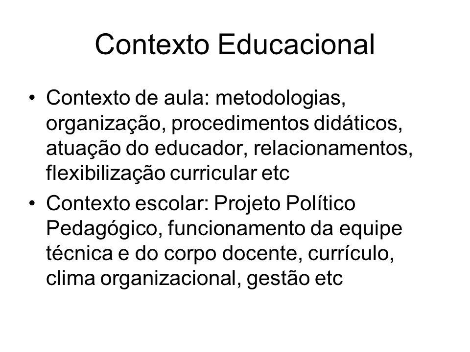 Contexto Educacional