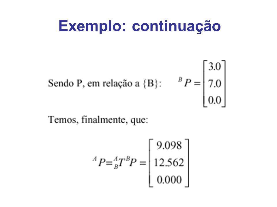 Exemplo: continuação