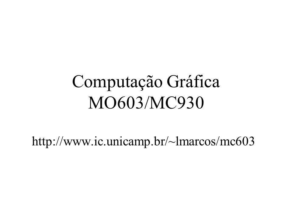 Computação Gráfica MO603/MC930