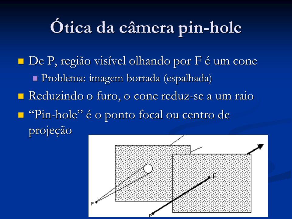 Ótica da câmera pin-hole