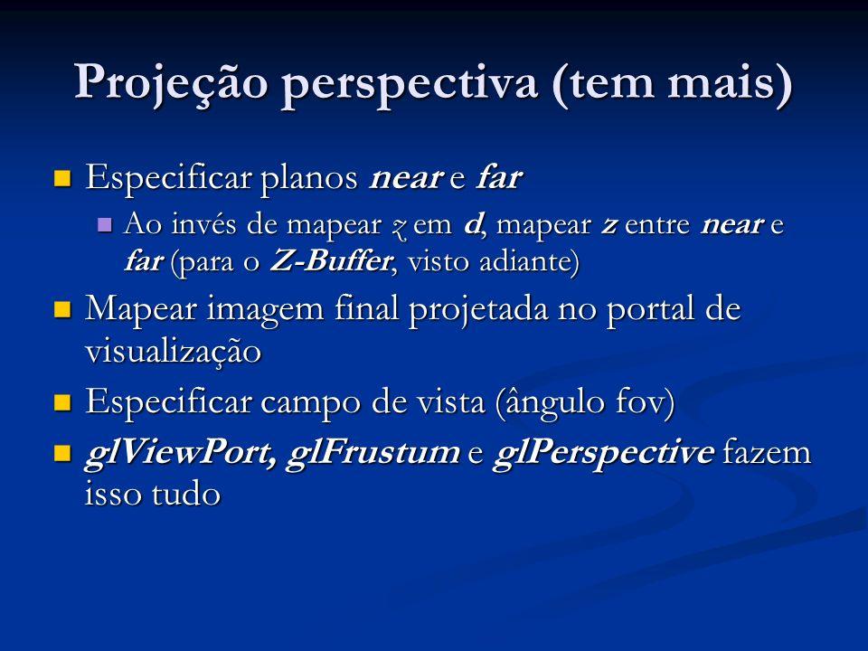Projeção perspectiva (tem mais)