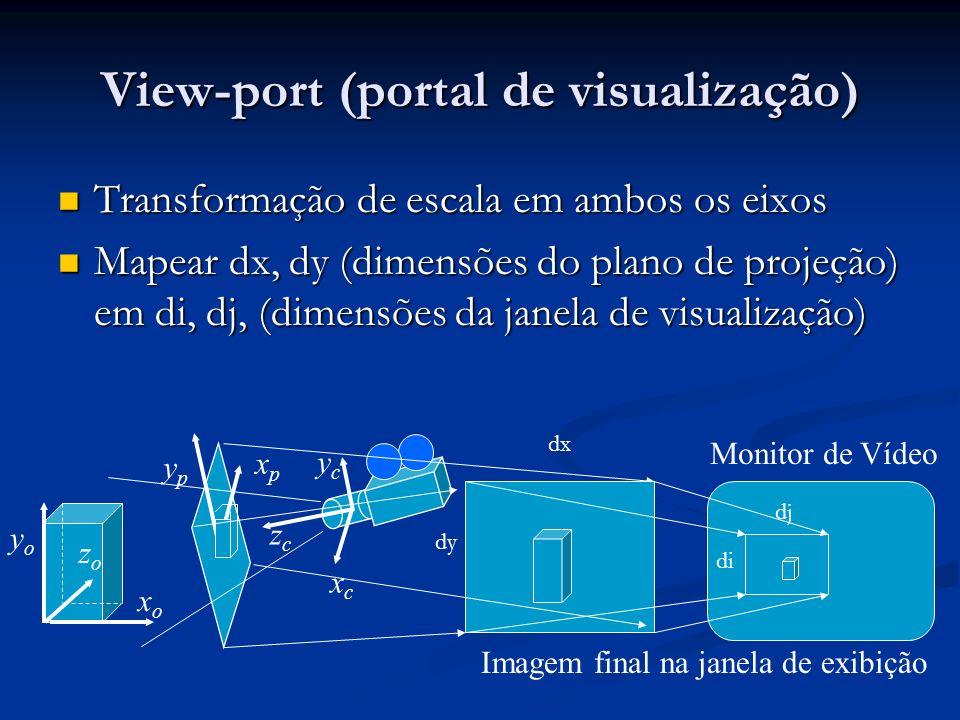 View-port (portal de visualização)