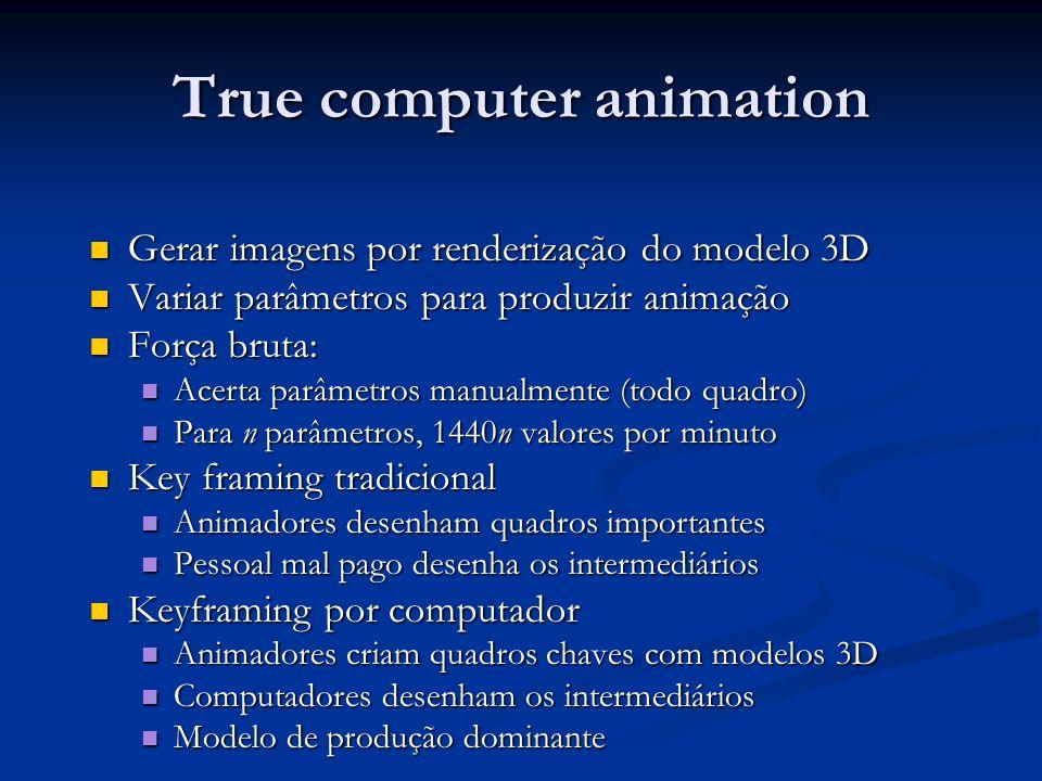 True computer animation
