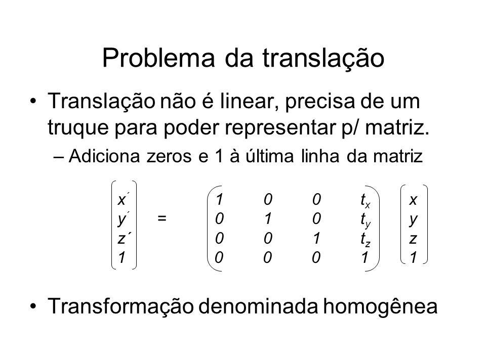 Problema da translação