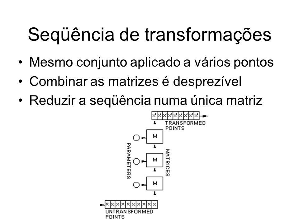 Seqüência de transformações