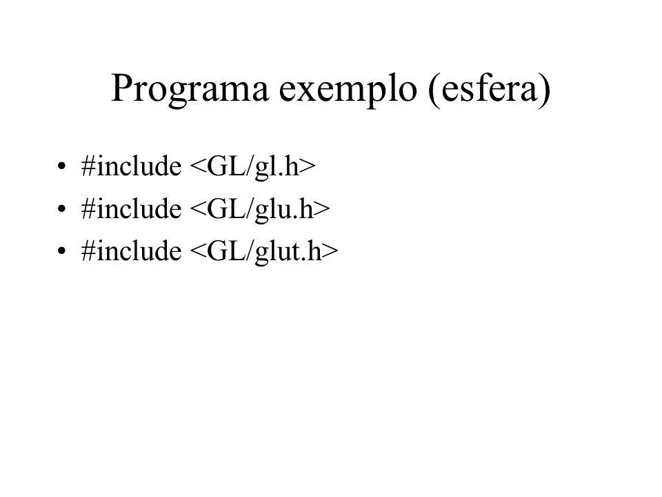 Programa exemplo (esfera)
