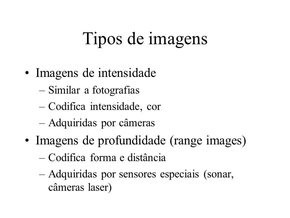 Tipos de imagens Imagens de intensidade