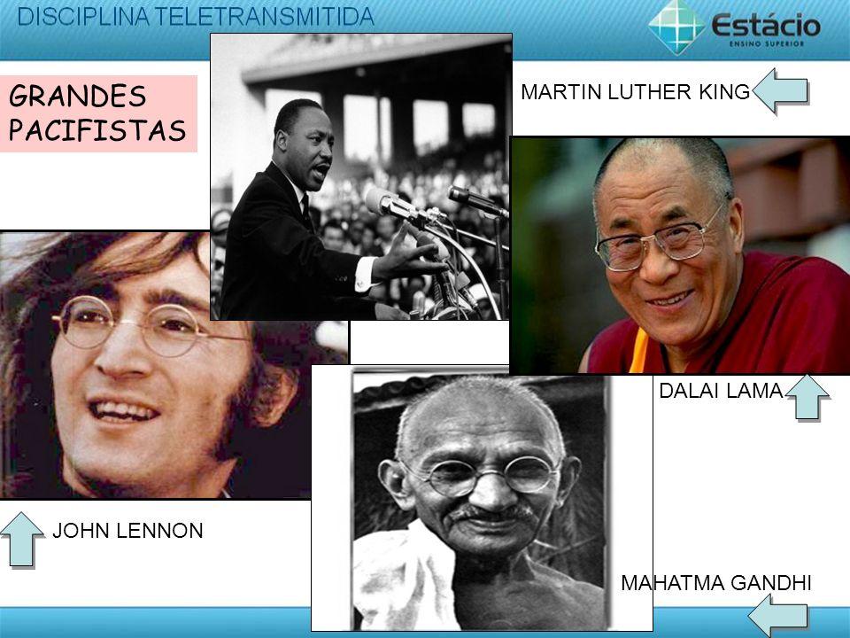 GRANDES PACIFISTAS MARTIN LUTHER KING DALAI LAMA JOHN LENNON