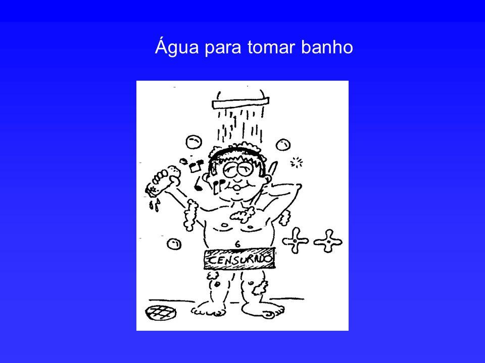 Água para tomar banho