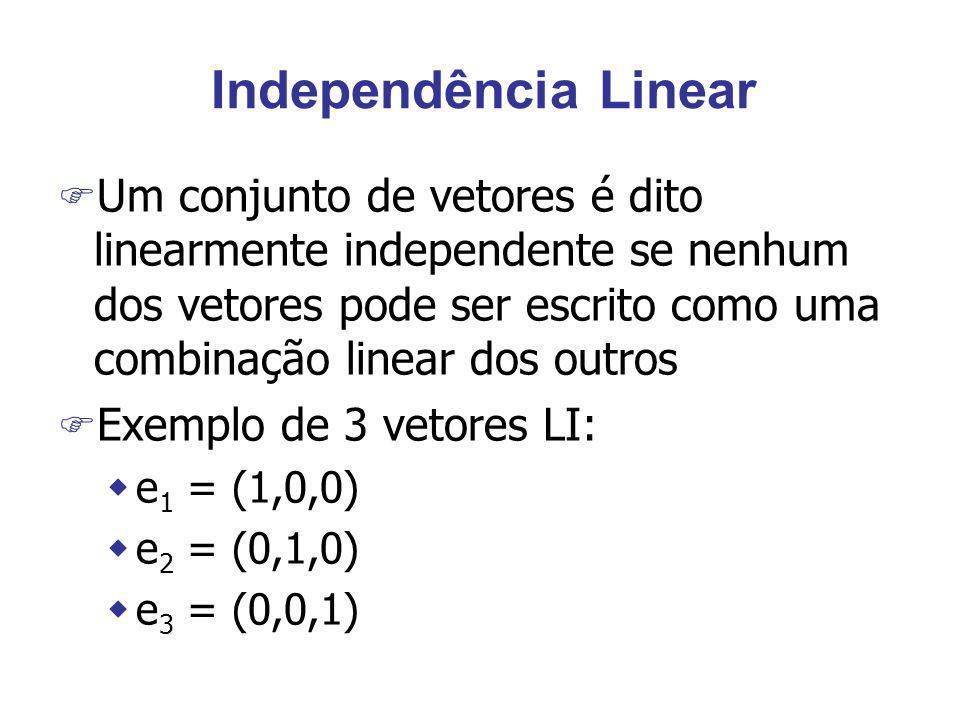 Independência Linear