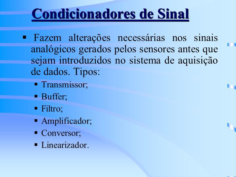 Condicionadores de Sinal