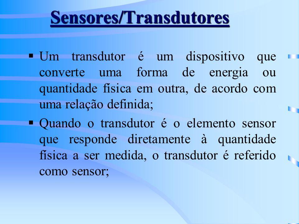 Sensores/Transdutores