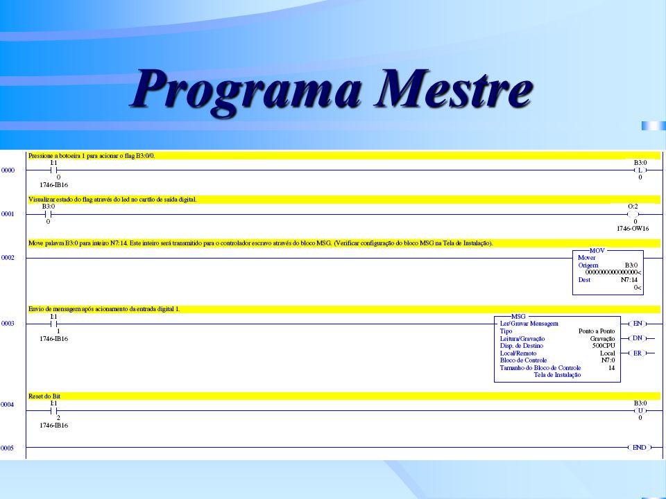 Programa Mestre