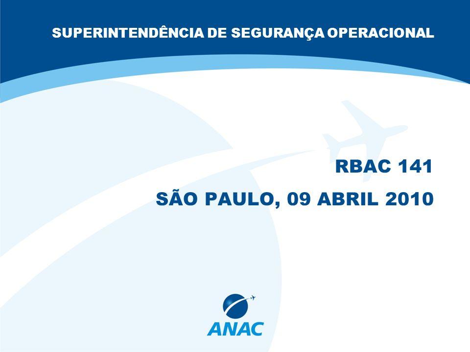 SUPERINTENDÊNCIA DE SEGURANÇA OPERACIONAL