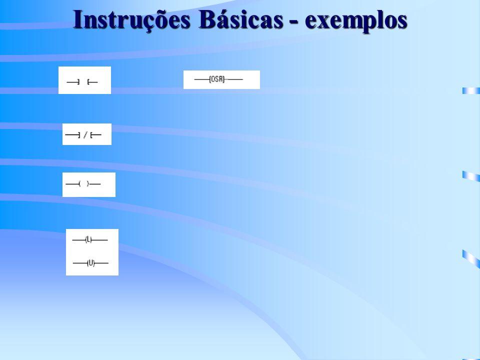 Instruções Básicas - exemplos