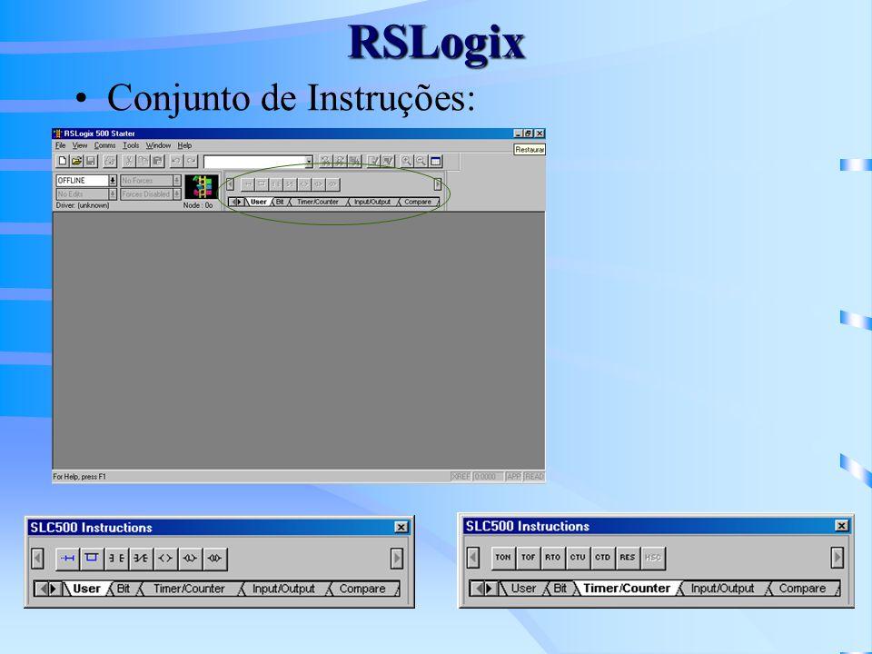 RSLogix Conjunto de Instruções: