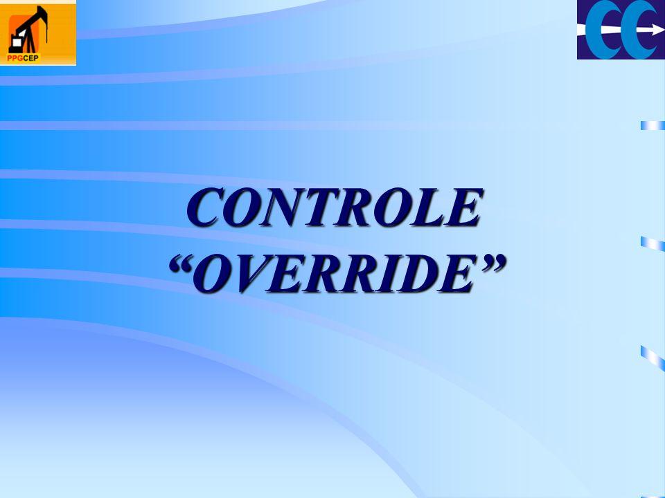 CONTROLE OVERRIDE