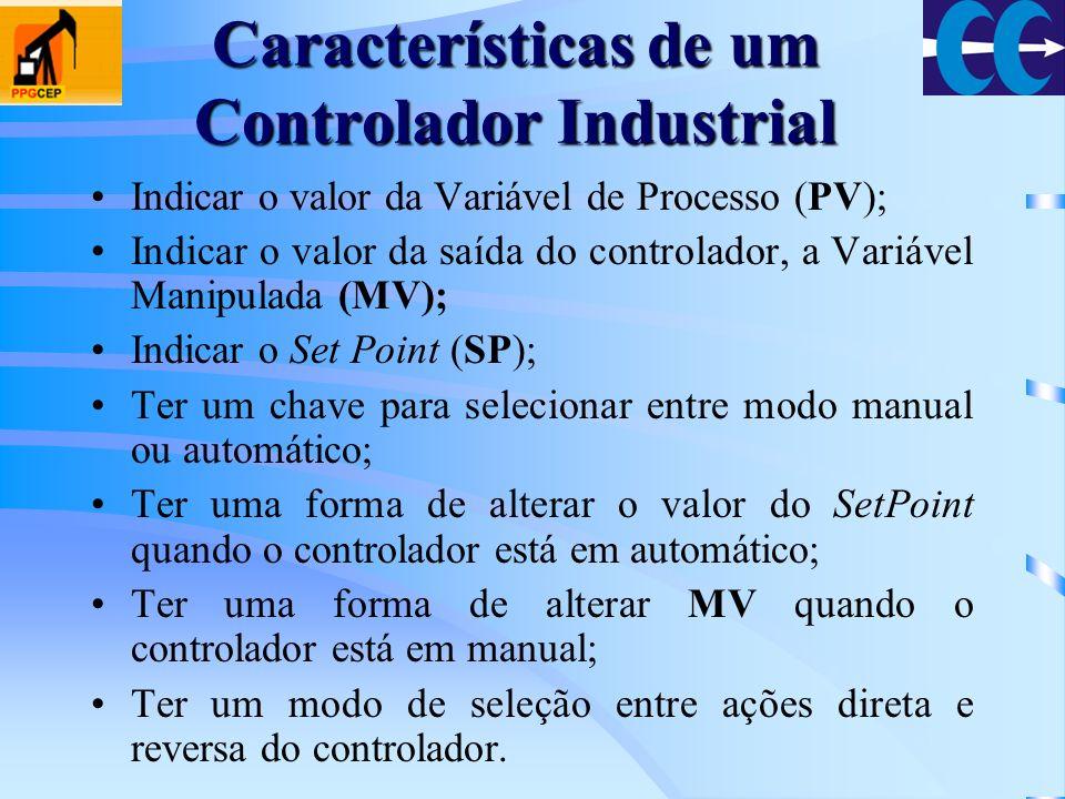 Características de um Controlador Industrial