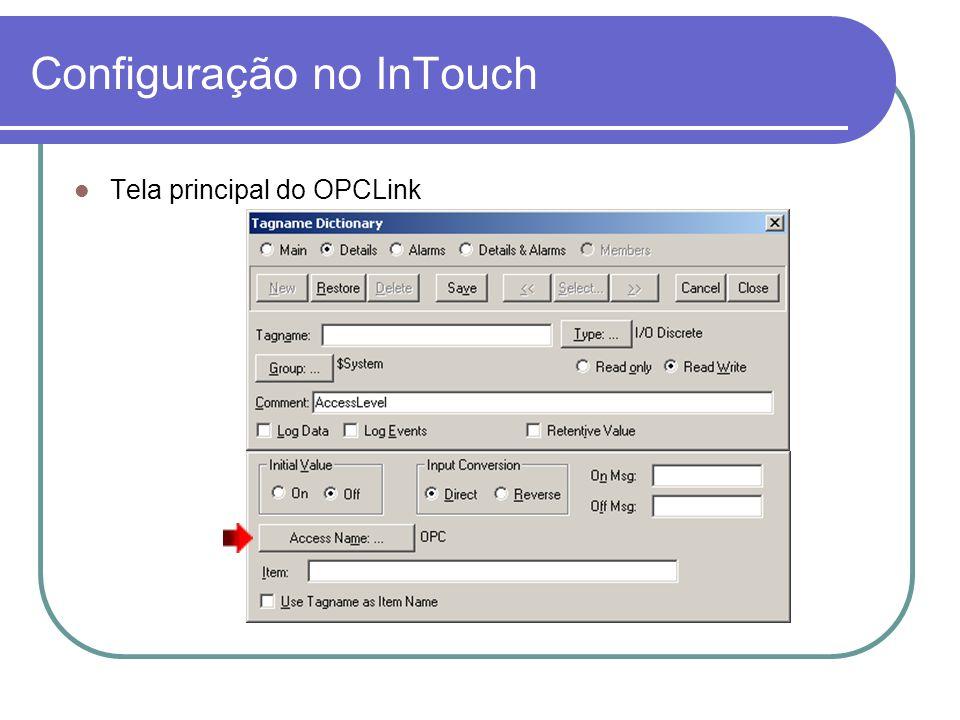 Configuração no InTouch