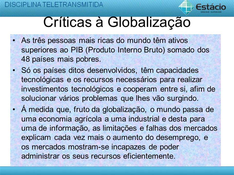 Críticas à Globalização