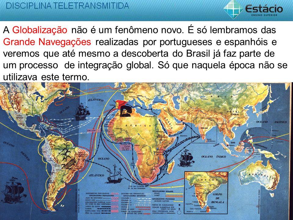 A Globalização não é um fenômeno novo