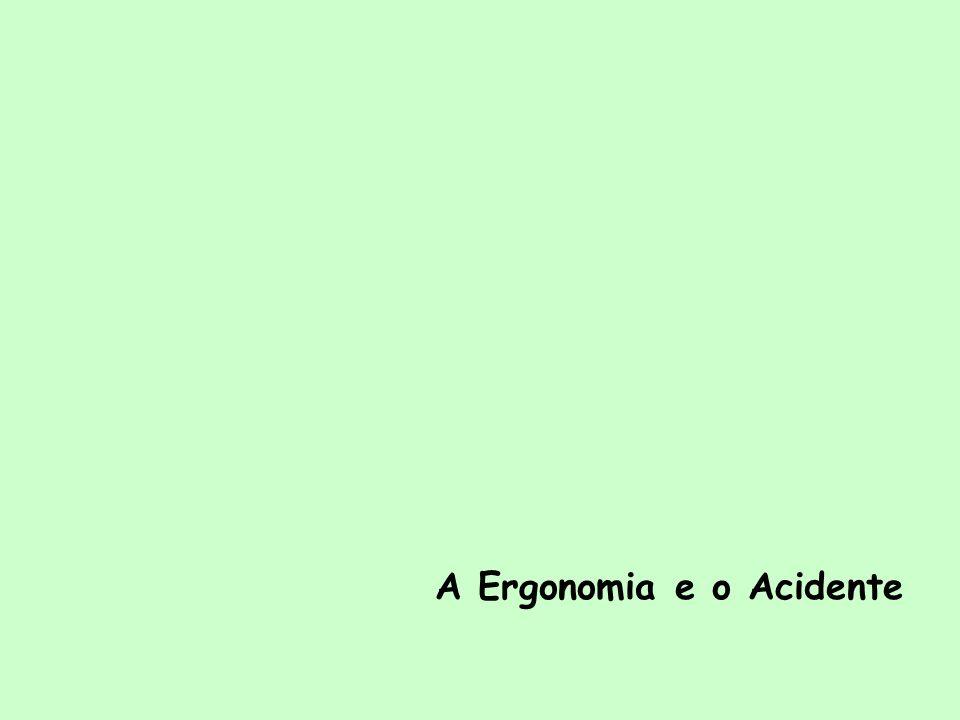 A Ergonomia e o Acidente