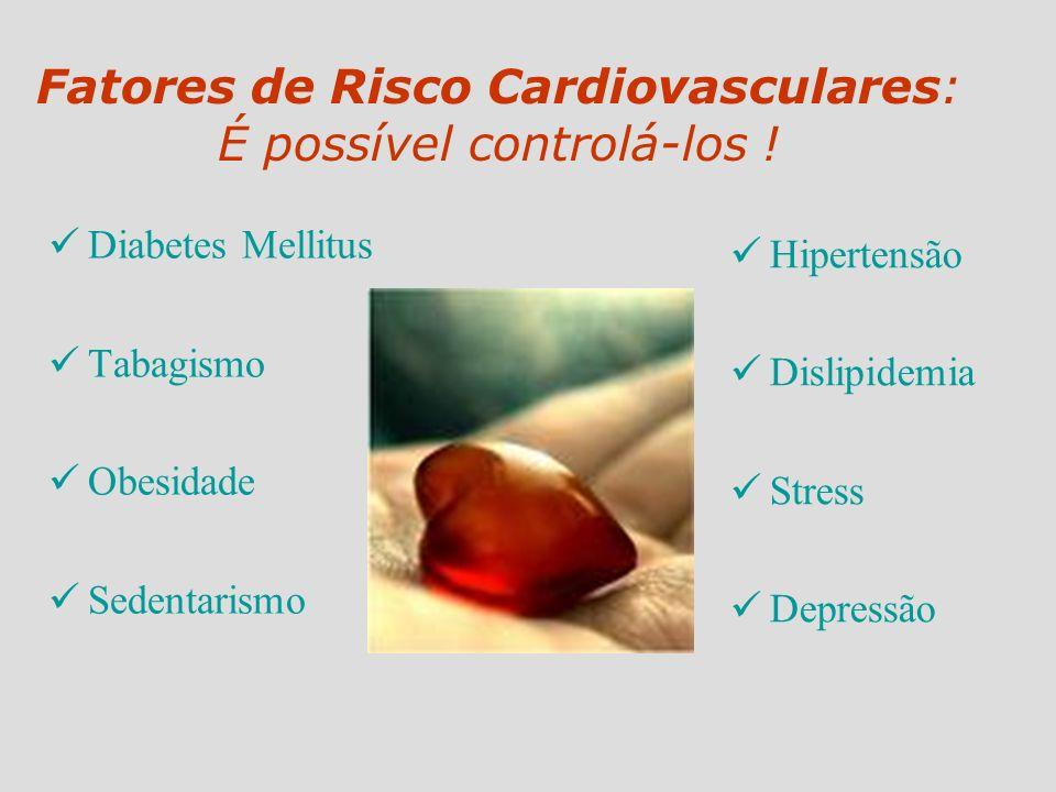 Fatores de Risco Cardiovasculares: É possível controlá-los !