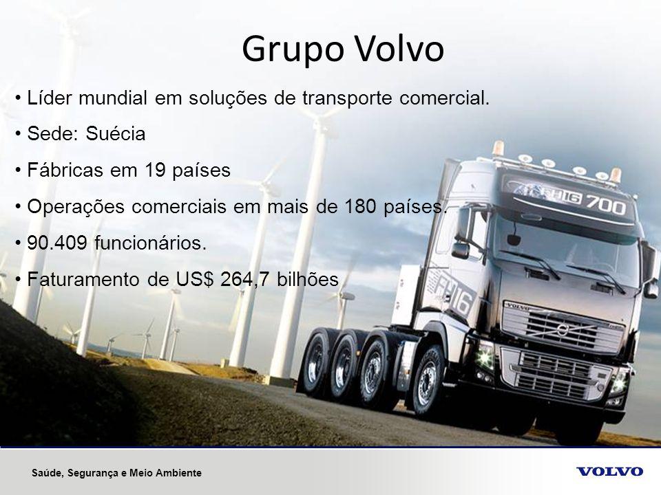 Grupo Volvo Líder mundial em soluções de transporte comercial.
