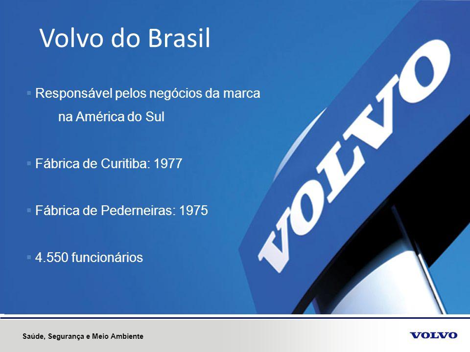 Volvo do Brasil Responsável pelos negócios da marca na América do Sul