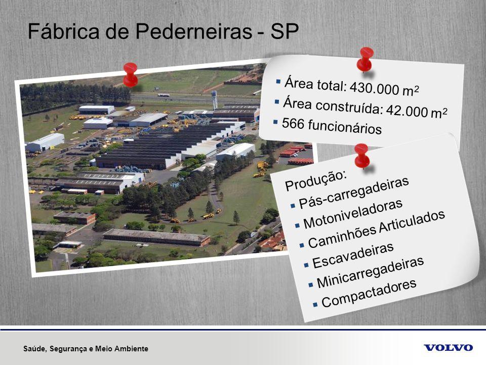 Fábrica de Pederneiras - SP