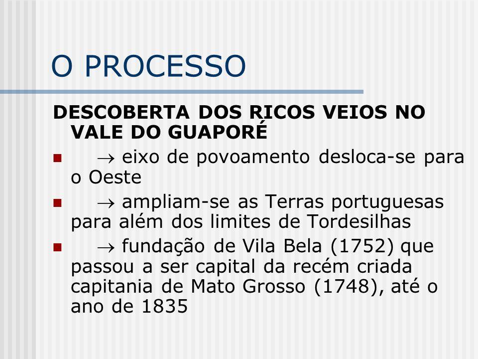 O PROCESSO DESCOBERTA DOS RICOS VEIOS NO VALE DO GUAPORÉ