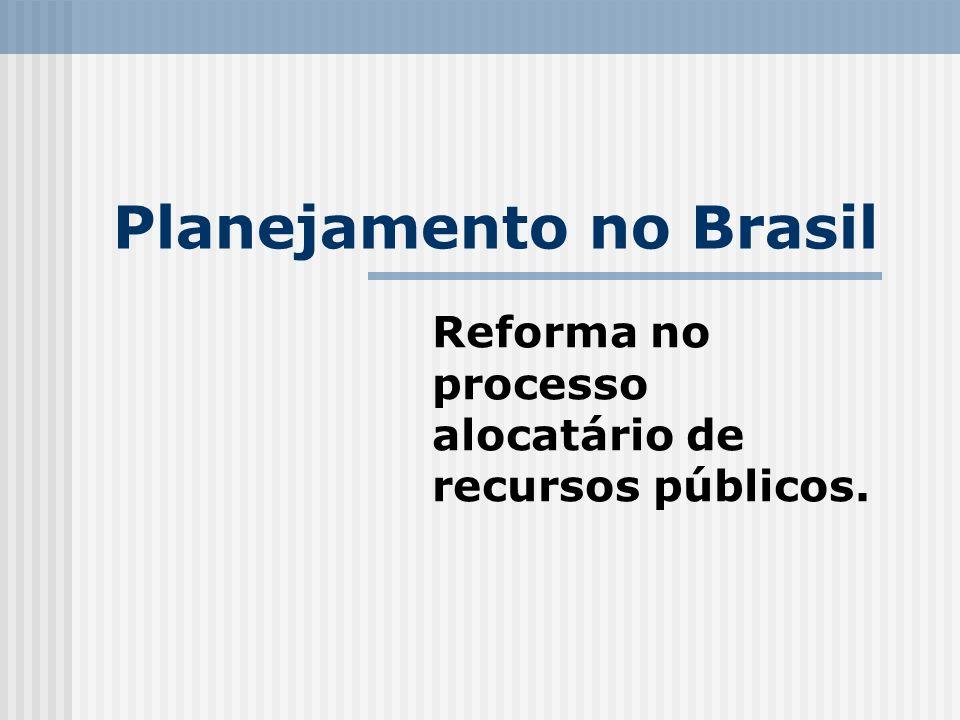 Planejamento no Brasil