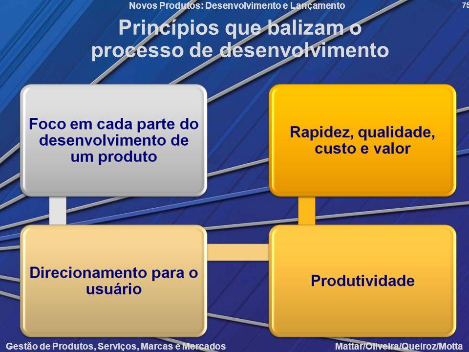 Princípios que balizam o processo de desenvolvimento
