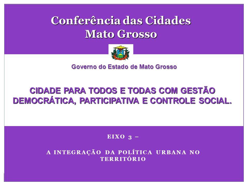Conferência das Cidades Mato Grosso