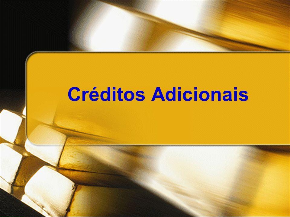 Créditos Adicionais