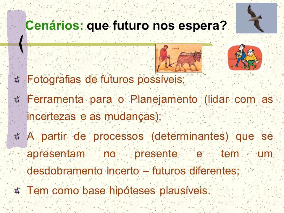 Cenários: que futuro nos espera