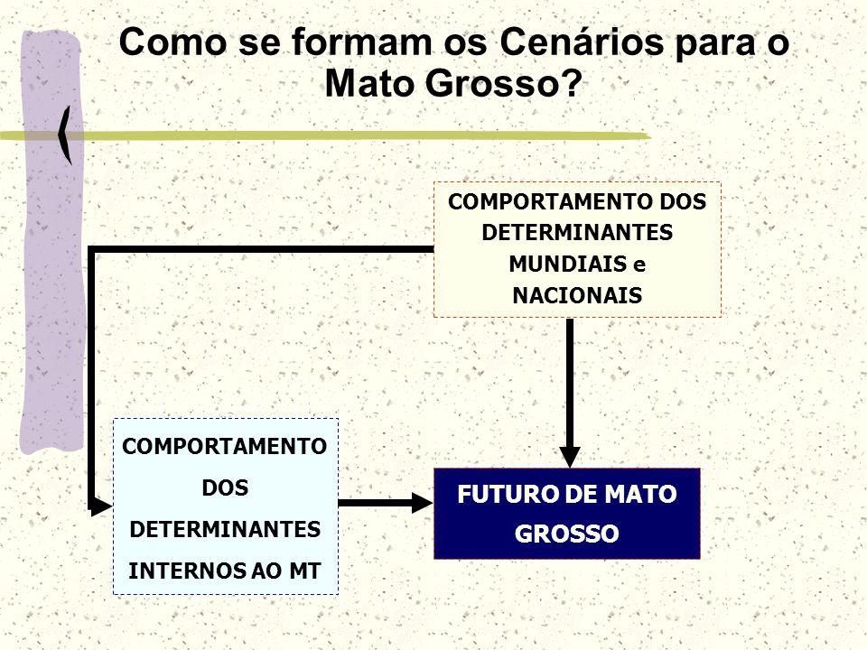 Como se formam os Cenários para o Mato Grosso