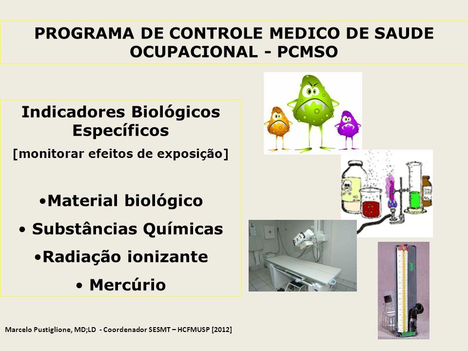 PROGRAMA DE CONTROLE MEDICO DE SAUDE OCUPACIONAL - PCMSO
