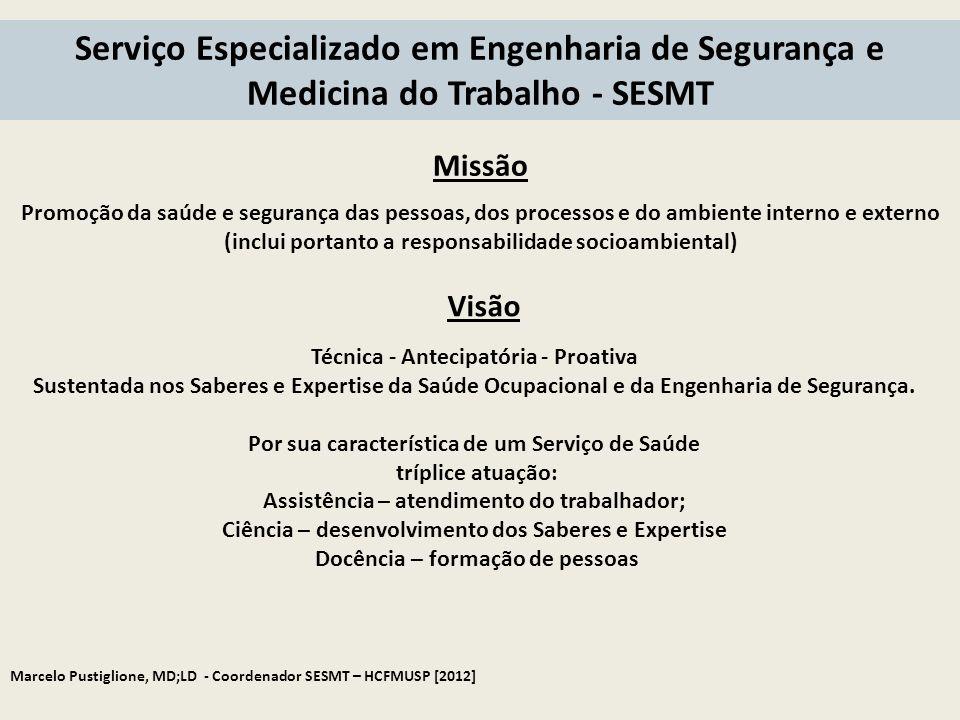 Serviço Especializado em Engenharia de Segurança e Medicina do Trabalho - SESMT