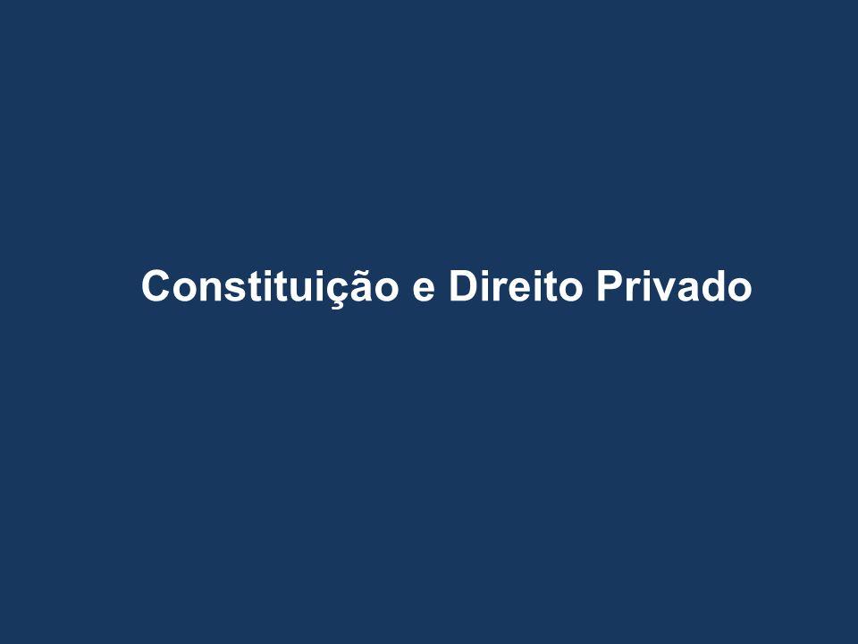 Constituição e Direito Privado