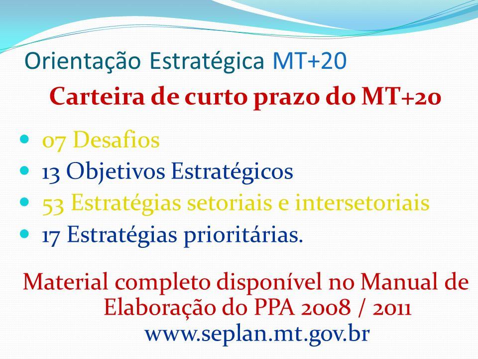 Orientação Estratégica MT+20