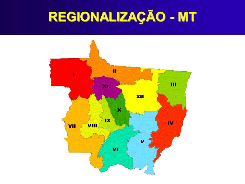 REGIONALIZAÇÃO - MT
