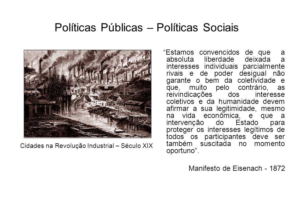 Políticas Públicas – Políticas Sociais