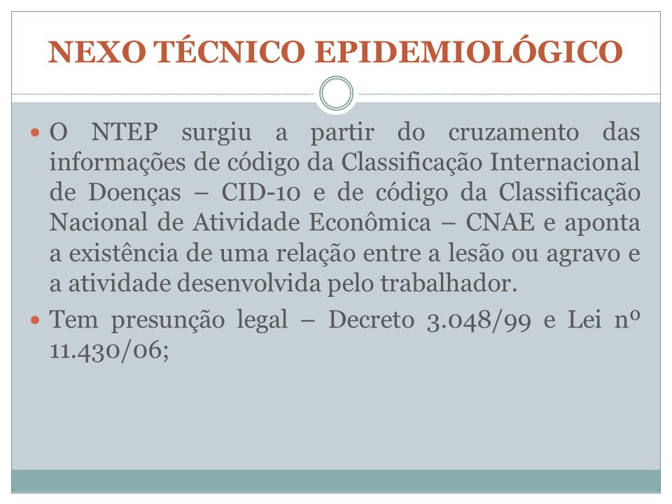 NEXO TÉCNICO EPIDEMIOLÓGICO