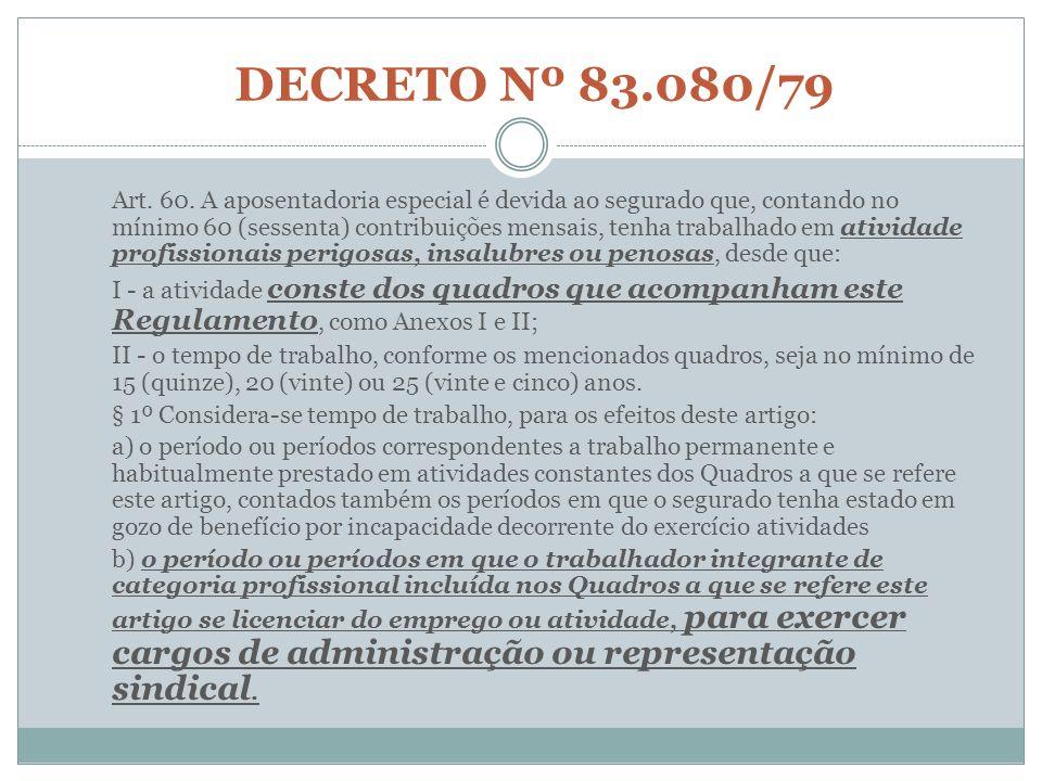 DECRETO Nº 83.080/79