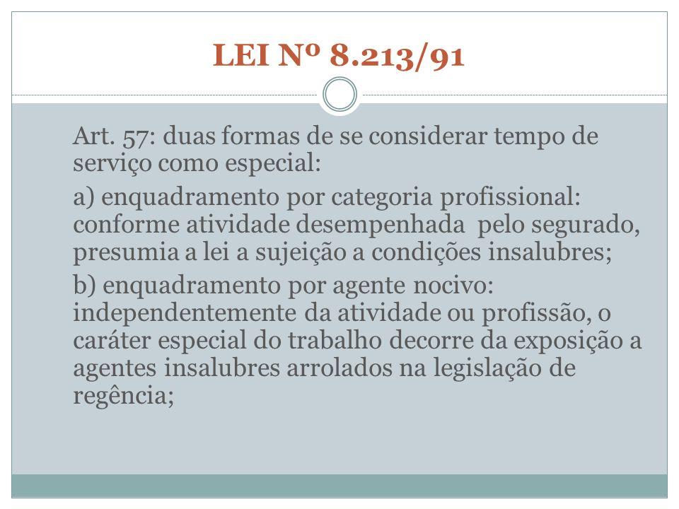 LEI Nº 8.213/91