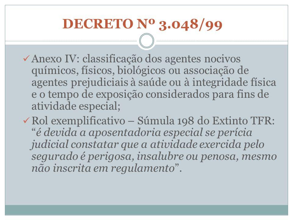 DECRETO Nº 3.048/99