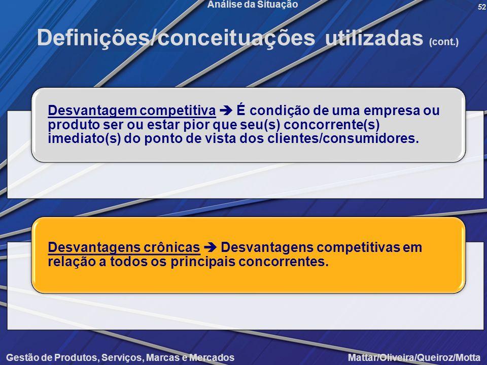 Definições/conceituações utilizadas (cont.)